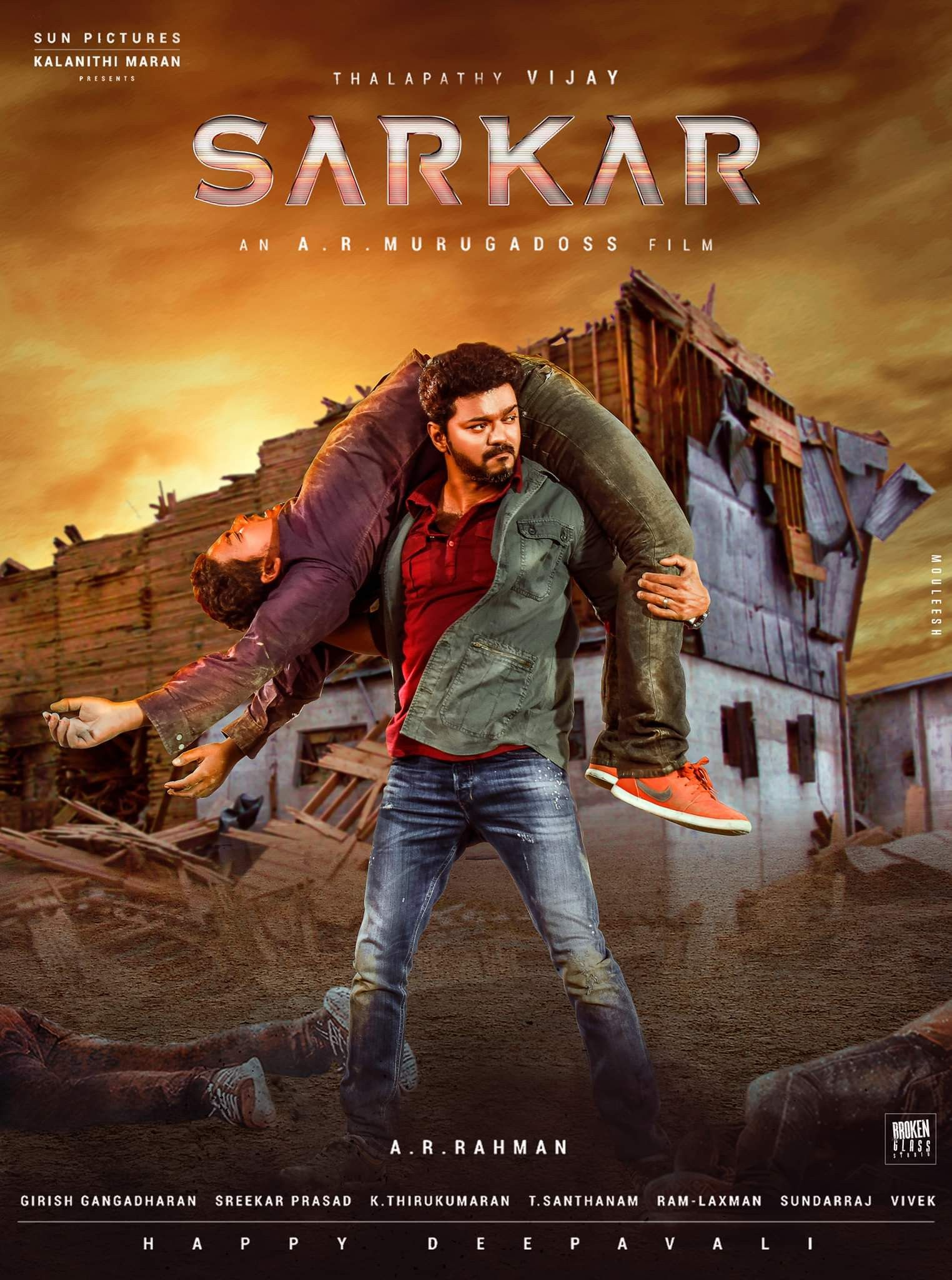 Sarkar 2018 Hindi Dubbed WEB-HDx264 ESub