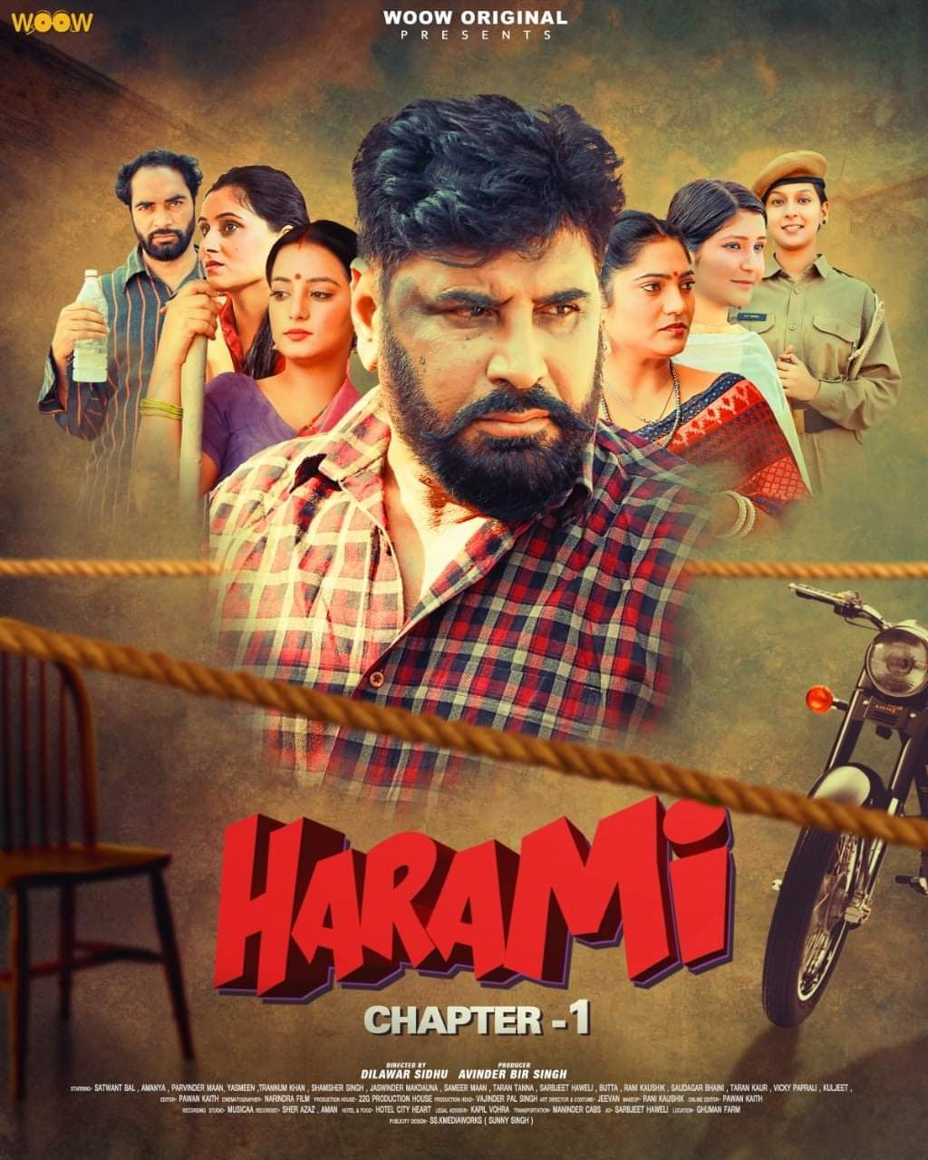 Harami Chapter 1 2021 S01 Woow Original Complete Hindi Series 720p WEB-DL x264