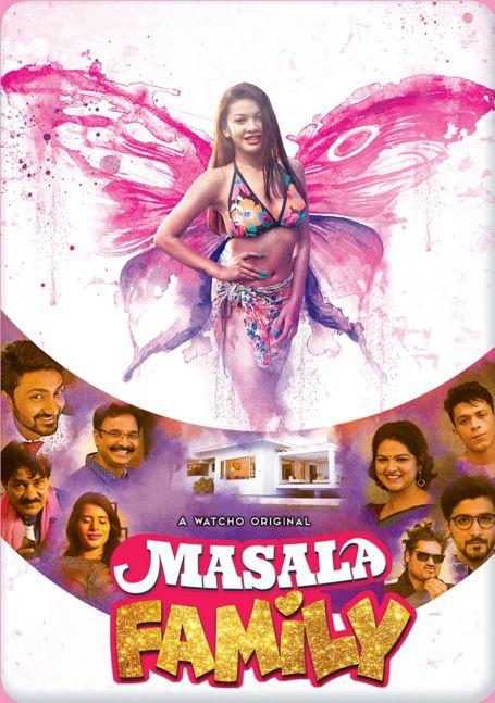 Masala Family (2021) Watcho Hindi Series 720p   480p WEB-Hd x264 Esubs